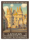 Langeais, France - Les Chateaux de la Loire (The Castles of the Loire) Prints by Leon Constant-Duval