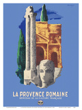 The Roman Provence - Cradle of French Culture Posters by Lajos Marton