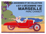 Marseille, France - Old Cars and Collectibles Prints by Léo Bouillon