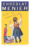 Chocolat Menier - Éviter Les Contrefaçons (Beware of Imitation) - French Chocolate Company Prints by Firmin Bouisset