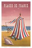 Plages de France (Beaches of France) Posters by Jean Picart le Doux