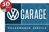 VW Garage Blikskilt