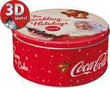 Coca-Cola - For Sparkling Holidays Tin Box Artículos de regalo