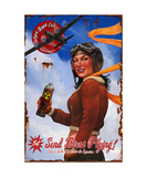 Send Thirst Flying Photographic Print by Steve Goad