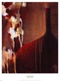 Persimmon Vase II Posters by Terri Burris