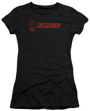 Juniors: Chevrolet- Distressed Z28 Emblem Shirts