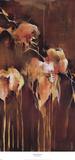 Green Diptych I Poster van Terri Burris
