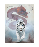 The Tiger and The Dragon Photographic Print by Steve Goad