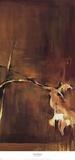 Green Diptych II Schilderijen van Terri Burris