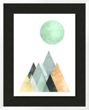 Geometric Art 41 Prints by Pop Monica
