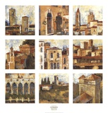 Tuscan Series Posters by Liz Jardine