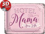 Hotel Mama Tin Sign