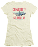 Juniors: Chevrolet- 59 Impala T-shirts