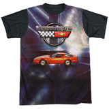 Chevrolet- Race Redy Corvette Black Back Shirt