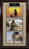 "Daisy Ridley Signed ""Rey and BB-8"" Photo Collage with Nameplate Framed Memorabilia"