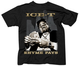 Ice T- Rhyme Pays T-Shirts