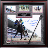 Victor Espinoza Signed American Pharoah Triple Crown Winner Framed Memorabilia