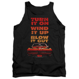 Tank Top: Pontiac- Blow It Out Gto Tank Top