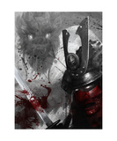 Samurai Photographic Print by Steve Goad