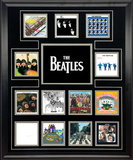 The Beatles UK Album Discography Collage Framed Memorabilia