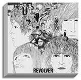 The Beatles - Revolver Stretched Canvas Print