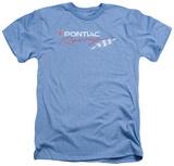 Pontiac- Pontiac Racing Flag Distressed T-Shirt