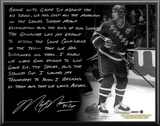 Mark Messier Facsimile '94 Stanley Cup Guarantee' Metallic Story Plaque Wall Sign