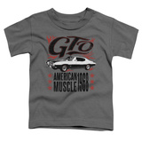 Toddler: Pontiac- Gto American Muscle Since '68 Shirts