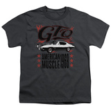 Youth: Pontiac- Gto American Muscle Since '68 Shirts