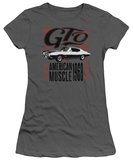 Juniors: Pontiac- Gto American Muscle Since '68 T-shirts