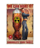Annihilate Your Thirst Photographic Print by Steve Goad