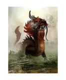 Vietnamese Dragon Photographic Print by Steve Goad