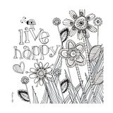 Live Happy Posters by Robbin Rawlings