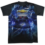 Chevrolet- Hypnoticvette Black Back Shirts