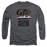 Long Sleeve: Pontiac- Gto American Muscle Since '68 Shirts