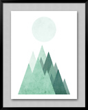 Geometric Art 43 Print by Pop Monica