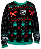 Knit Sweater: Descendents- Hot Cocoa & Tunes Ugly Sweater Kleding