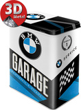 BMW - Garage Tin Box Sjove ting