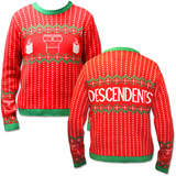 Knit Sweater: Descendents- Milo Festive Holiday Sweater (Front/Back) T-shirty