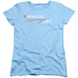 Womens: Pontiac- Pontiac Racing Flag Distressed Shirts