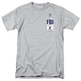 X Files- Mulder Agency Badge T-Shirt