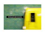 Alexanderplatz Posters by Michael Belhadi