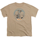 Youth: Chips- Ponch & John Patch T-shirts