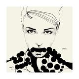 Pearls Poster af Manuel Rebollo