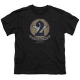 Youth: Battlestar Galactica- Strike Fighters Badge T-shirts