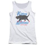 Juniors Tank Top: Its Always Sunny In Philadelphia- Kitten Mittons Womens Tank Tops
