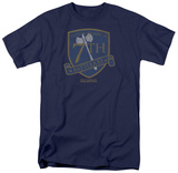 Battlestar Galactica- 7Th Raptor Squadron Battleaxe Shield T-shirts