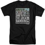 Sandlot- The Great Bambino (Big & Tall) T-shirts