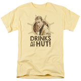 Gilligans Island- Drinks With Thurston Howell Iii T-shirts