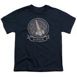 Youth: Battlestar Galactica- Viper Squad Insignia Badge Shirt
